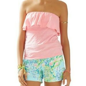 Lilly Pulitzer Pink Tube Top